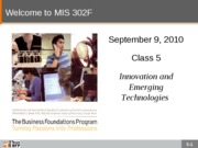 F10-Class-05-Innovation and Emerging Technologies