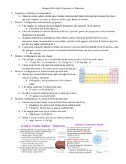 Chemistry Chapter 8 Notes-part 2