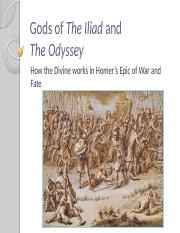 Gods of The Iliad and The Odyssey(1).pptx