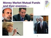 Cap Markets 2014 Class 16 Money Market Funds