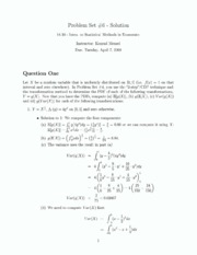 problemset6 solutions