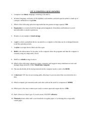 CIT 12 CHAPTER 2 QUIZ ANSWERS.docx
