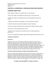 SolutionManual_SupplyChainMgmt_ALogisticsPerspective_9Ed_by_Coyle_Langley_Chapter14