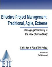 EPM7e Slides Ch05 How to Plan a TPM Project