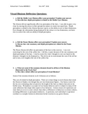 PsychSim 5 Reflection Questions Visual Illusions.docx