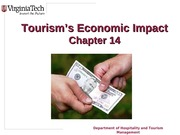 Chapter 14 Tourisms Economic Impact
