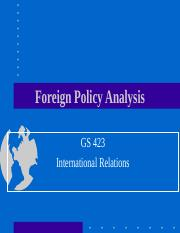 Foreign Policy Analysis(4).ppt