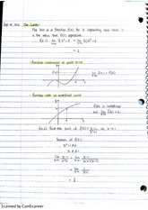2. math102 limits and derivatives