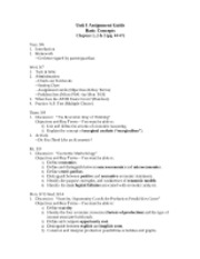 Assignment Guide ch 3