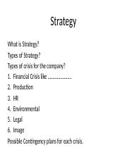 Module 1 chap 1  FINANCIAL STRATEGY AND PLANNING