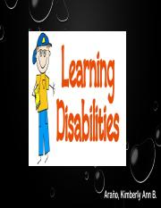 2 Learning Disability
