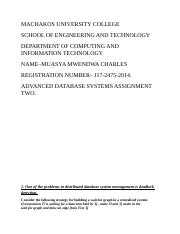 Advanced Database systems assignment.docx