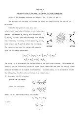 Exercises Ch 08 Non-Relativistic Two-Body Collisions in Three Dimensions