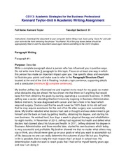 Kennard Taylor-Unit6-AcademicWriting(1)