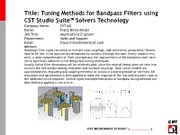 3-3-3-Tuning-Methods-for-Bandpass-Filters-using-CST-Studio-Suite-Solvers