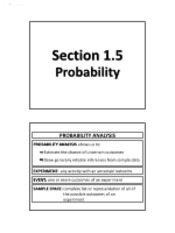 1.5 - Probability (Solutions)