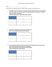 Genetics Assignment Worksheet(2) (6).docx