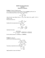 ENGRD_2210_Thermodynamics_HW6_Solutions