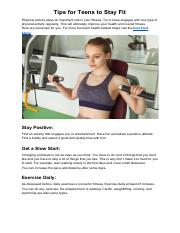 Tips for Teens to Stay Fit.pdf