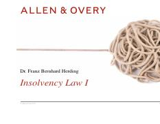 Insolvency_Law_Part_I