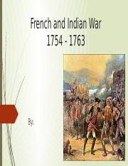 Muske French and Indian War.pptx