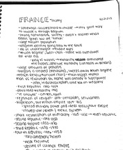 France history notes
