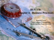 Business Processes - Chapter 4