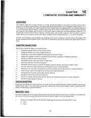 Study Guide Ch. 16_Immune System_Hole's Text