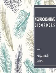 NEUROCOGNITIVE DISORDERS.pptx
