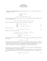 Midterm exam 1 solutions