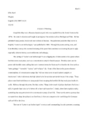 Letter to an archeologist paper