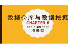 Chapter 6 決策樹 (Decision Tree)