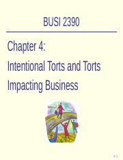 BUSI2390-Online-Chapter4-Lecture