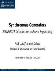 04 Synchronous Generators - no answers.pdf