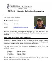 Professor Bovaird contact info