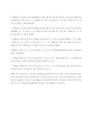 Functions Again - Math 230 - Spring 2012 (Davidson College)