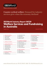O8729 Welfare Services and Fundraising in Australia Industry Report