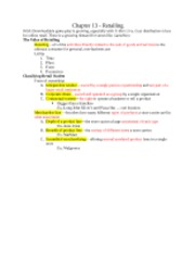 MKT 300 Exam 3 Study Guide