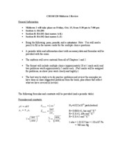 CH110-120 Midterm 1 Information and Practice 2010