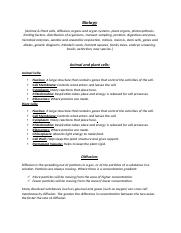 Biology Revision Additional Science.docx