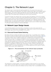Chapter 5 - The Network Layer