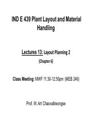 Lecture 13_Layout Planning 2