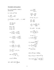 final exam equations