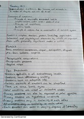 Notes on Evolutionary Psych and Quiz