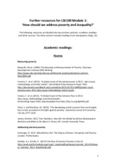 Further resources poverty module_V4