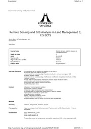SB281C_Remote sensing and GIS analysis in LM course curriculum_draft1