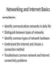 Chapter04_Networking and Internet Basics.pptx