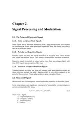 02 Signal Processing and Modulation