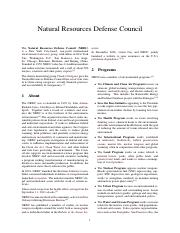 1970 Natural Resources Defense Council
