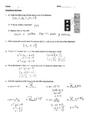 Functions Test Review